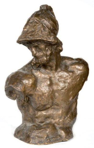 Ecole XXe  Périclès  Epreuve en bronze à...