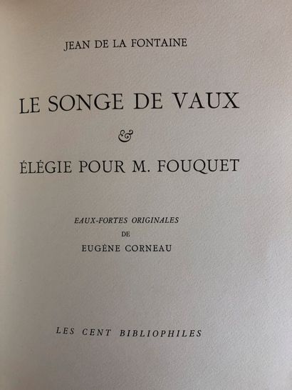 Jean de la Fontaine  Le singe de Vaux élégie pour M. Fouquet