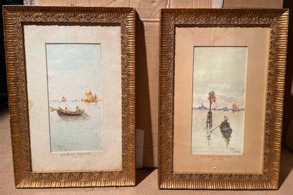 Antonio REYNA MANESCAU (1859-1937)  Venise...