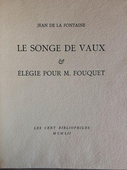 Jean de la Fontaine  Le singe de Vaux élégie...