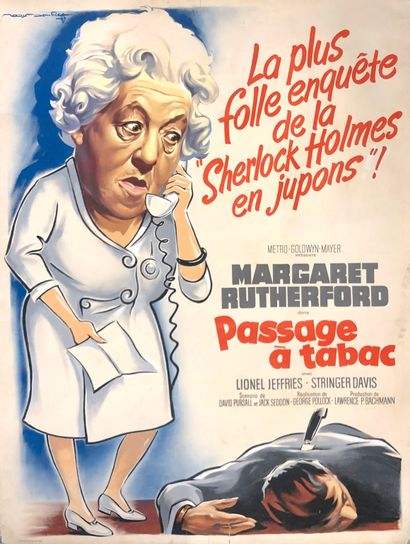 PASSAGE A TABAC / MURDER AHOY  George Pollock,...