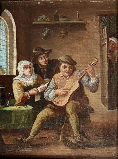 Dans le goût du XVIIe siècle Flamand  Les...