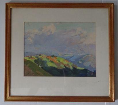 Yvonne KLEISS-HERZIG (1895-1968)  Paysage...