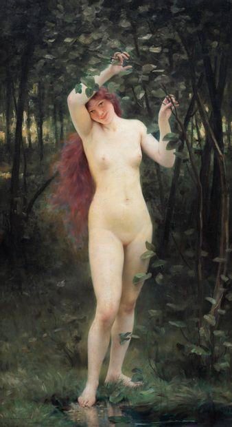 Pierre Franc LAMY (1855-1919)  Femme nue...