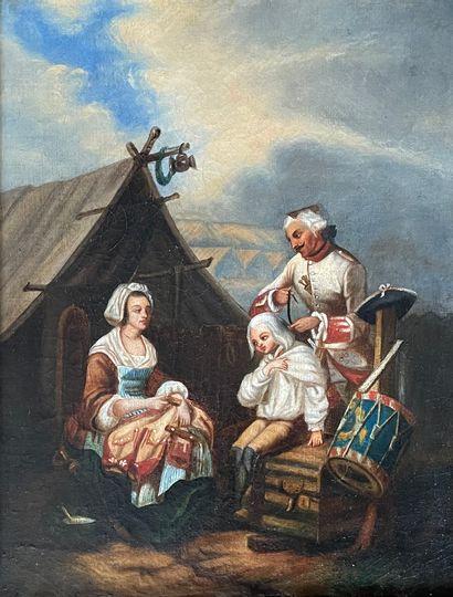 Louis Albert BACLER D'ALBE (1761-1848) attribué...