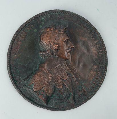Médaille de Victor Amédée Ier par Abraham...