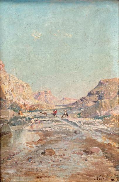 Maxime NOIRÉ (1861-1927)  Passage d'Elmahel...