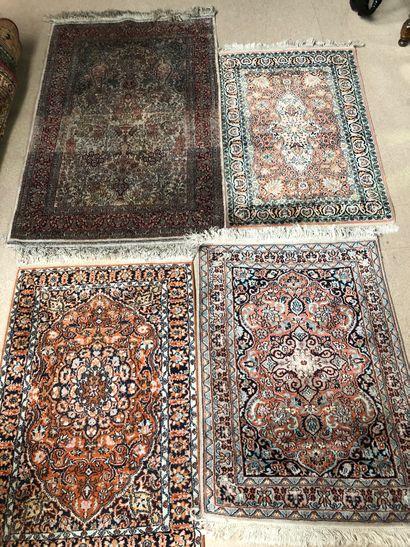 Ensemble de carpettes en laine  Dim du +...