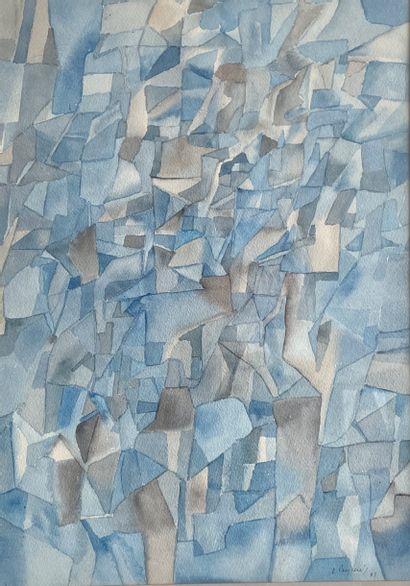 Enrique PEYCERE (1927-1988) Composition...