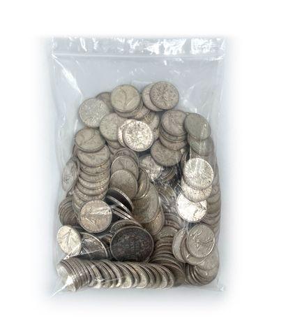 Lot de monnaies en argent 925°/°° Poids: 2621,72 g