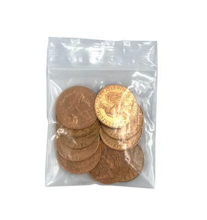 Lot de 10 pièces vingt francs or Poids: 64,43 g