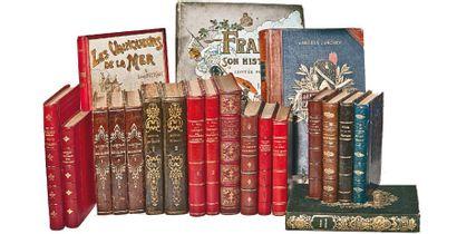20 Volumes. Histoire de France, histoire de la Restauration, écoles royales, esquisses...
