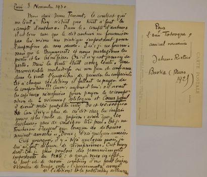 RICTUS Jehan (Gabriel Randon de Saint-Amand, dit) [Boulogne-sur-Mer, 1867 - Paris, 1933]