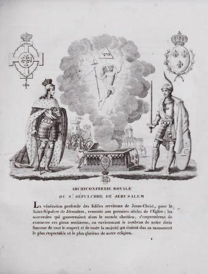 Précis historique des ordres du Saint-Sépulchre...