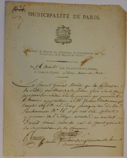 CHAUMETTE Pierre-Gaspard [Nevers, 1763 -...