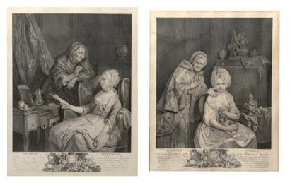 D'après Pierre Alexandre Wille (1748-1821)