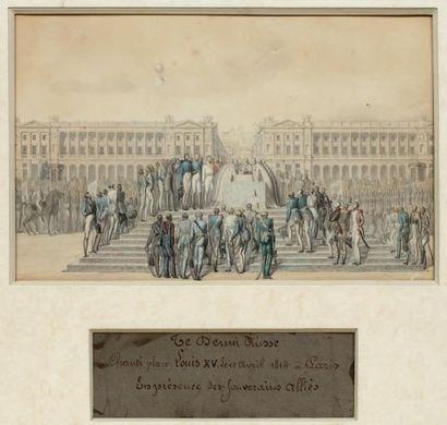 Ecole FRANCAISE du début du XIXème siècle