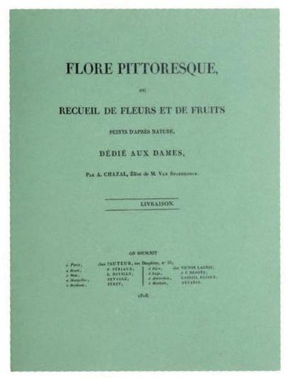 FLORE PITTORESQUE ou RECUEIL DE FLEURS ET...