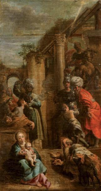 Ecole VENITIENNE du XVIIIème siècle, entourage de Gaspare DIZIANI