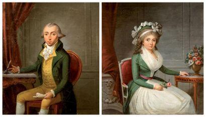 Attribué à Michel GARNIER (1753 - 1819)
