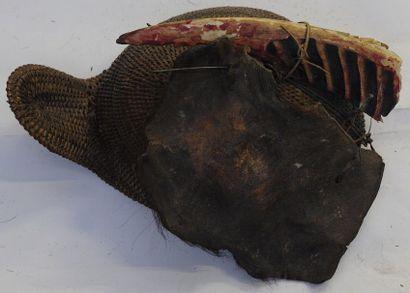 Coiffe de chasseur Nishi – Arunachal Pradesh...