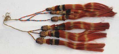 Ornement de coiffe ou d'oreilles – Nagaland...