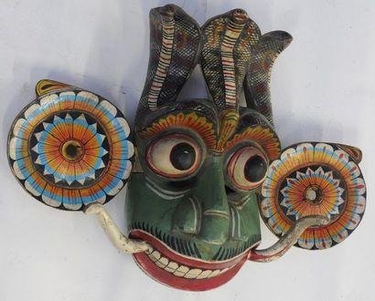 Paire de masques – Inde – Indonésie ( ?)...