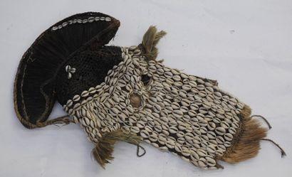 Masque Dogon – Mali – H. : 68 cm Tissu –...