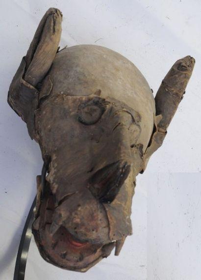 Masque animalier – Bambara – Mali – Avec...