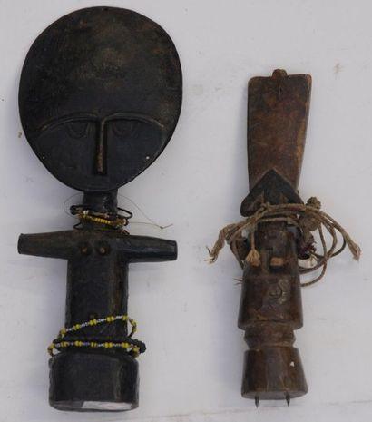Deux Poupées de fécondité Akan – Fanti –...