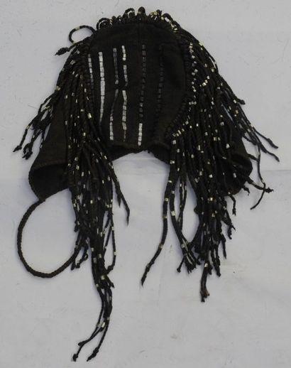 Bonnet Dogon – Mali – H. : 18 cm Tissu –...
