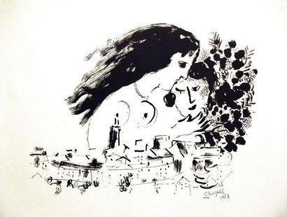 Chagall Affiche Epreuve d'essai 1 Affiche...