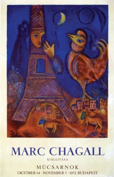 Marc Chagall - Kiallitasa / CHAGALL MARC...