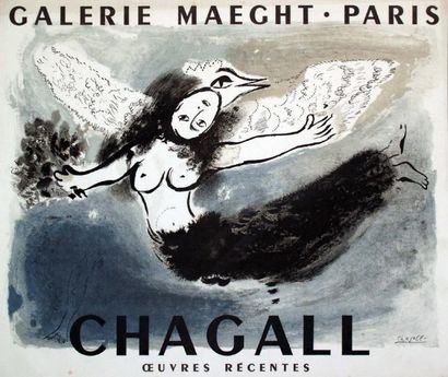 Chagall / CHAGALL MARC / OEuvres récentes....