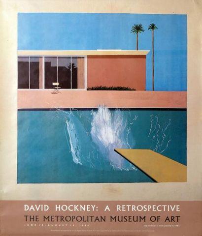 David Hockney / HOCKNEY DAVID The Metropolitan...