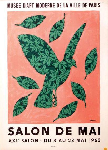 Magritte Salon de Mai 1965 / MAGRITTE Musée...