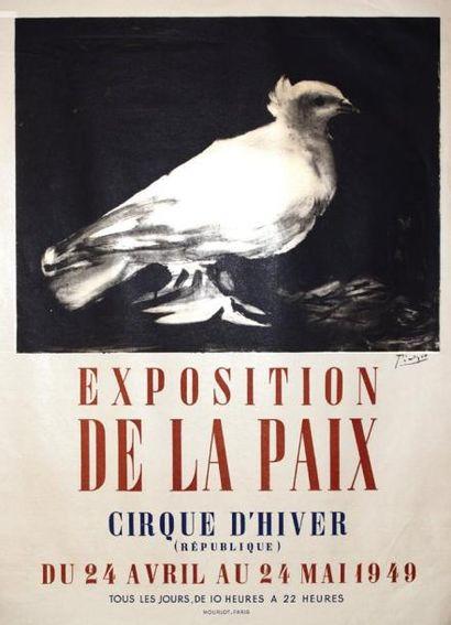 Exposition de la Paix / PICASSO PABLO / Cirque...