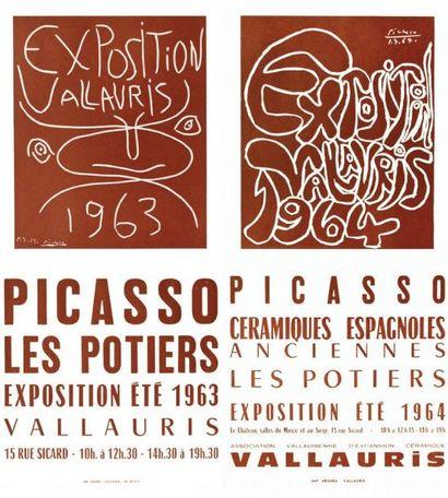 Exposition de Vallauris 1963 et 1964 / PICASSO...
