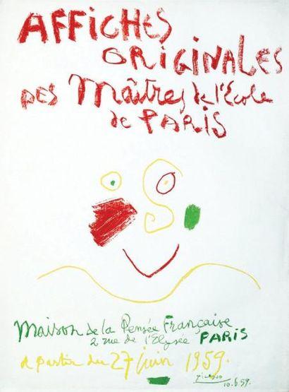 Picasso - Affiches Originales des Maîtres...