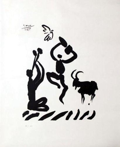Picasso 1959 / PICASSO PABLO / 70/150 1 Affiche...