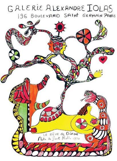 Niki de Saint Phalle 1970 - Le Rêve de Diane / SAINT PHALLE Niki de Galerie Alexandre...