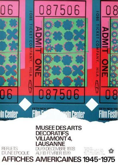 Warhol - Musée des Arts Décoratifs Lausanne...
