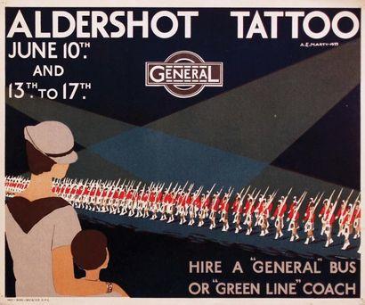 Aldershot Tattoo General 1933 / MARTY A.E....