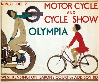 Motor Cycle and Cycle Show Olympia 1933 /...
