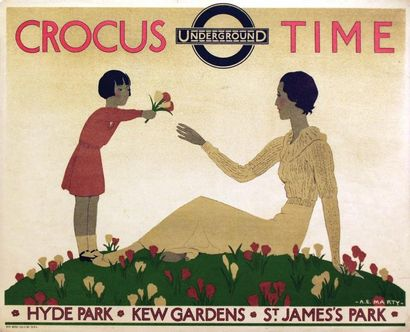 Crocus Time Underground 1933 / MARTY A.E....