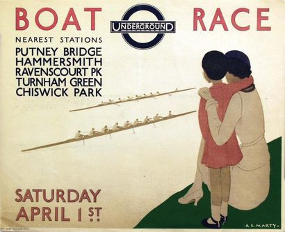 Boat Race Underground 1933 / MARTY A.E. /...