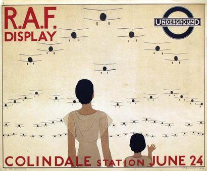 RA.F. Display Underground 1933 / MARTY A.E....