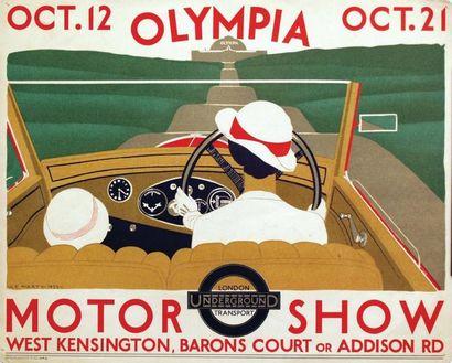 Motor Show Underground 1933 / MARTY A.E....