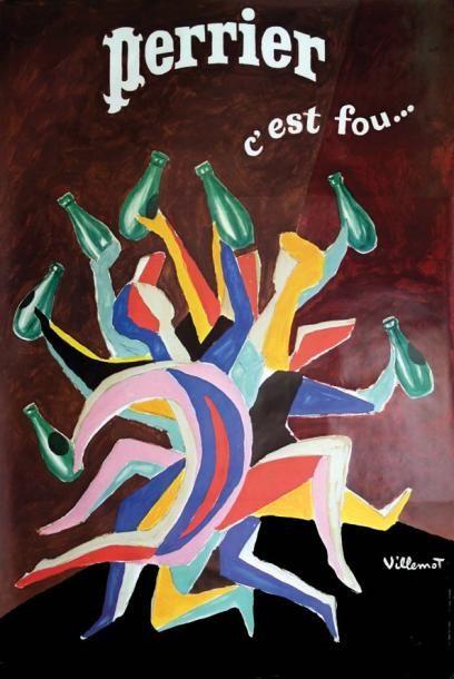 Perrier C'est Fou... / VILLEMOT / Lalande...