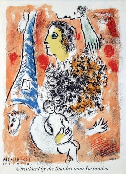 CHAGALL MARC / Circulated by the Smithsonian...